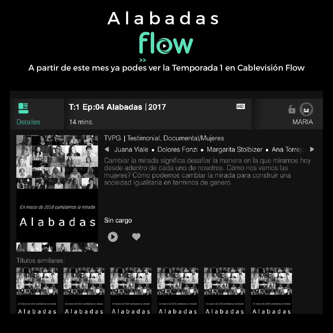 Alabadas en Flow